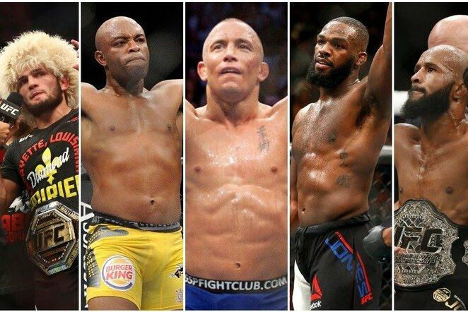 Geriausi visų laikų MMA kovotojai   Scanpix nuotr.