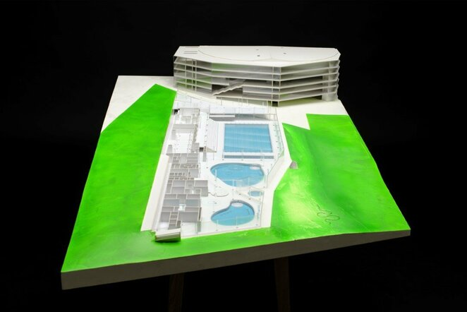 Naujojo baseino vizualizacijos | Organizatorių nuotr.