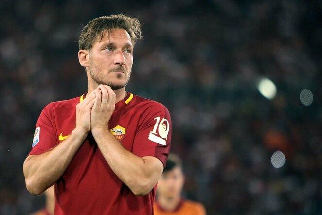 Francesco Totti   Scanpix nuotr.