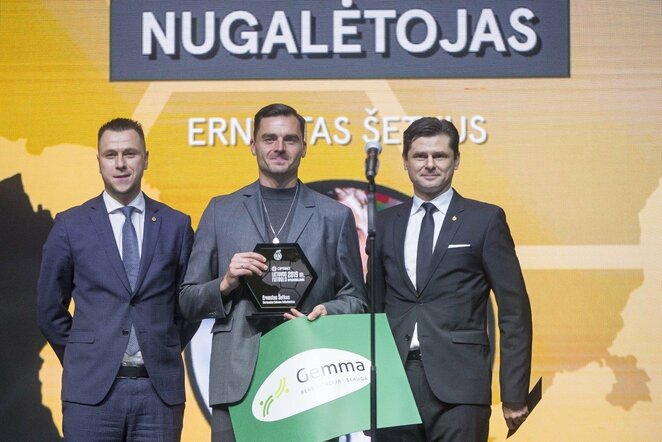Lietuvos futbolo apdovanojimai | Roko Lukoševičiaus/BNS Foto nuotr.