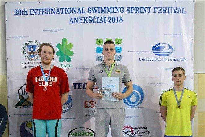 Anykščių plaukimo sprinto festivalis   Organizatorių nuotr.