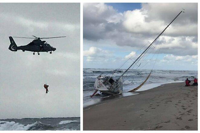 Tragedija regatoje Klaipėdoje: nuskendo jachtos kapitonas ir jo sūnus | Mažvydo Karaliaus / BNS foto nuotr.