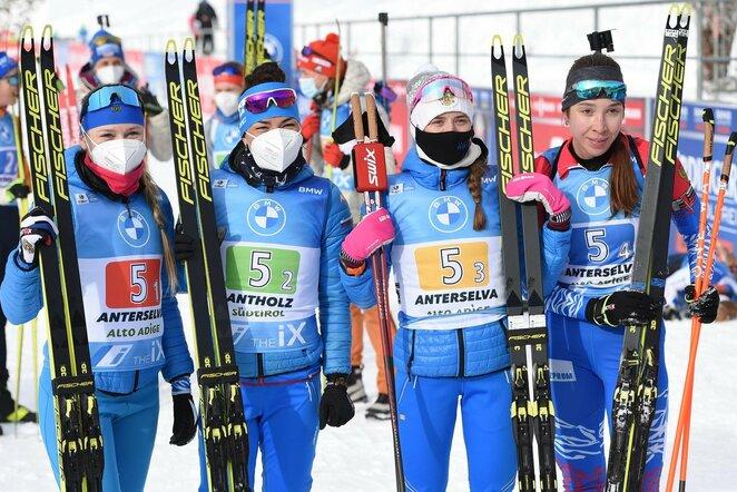 Rusijos moterų biatlono rinktinė | Scanpix nuotr.