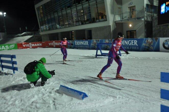 Lietuvos moterų estafetės komandos narės | Lietuvos biatlono federacijos nuotr.