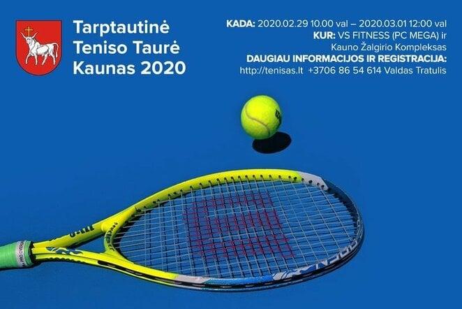 Turnyro plakatas   Organizatorių nuotr.