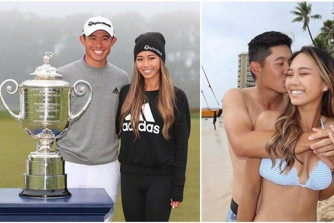 Collinas Morikawa ir Katherine Zhu | Instagram.com nuotr