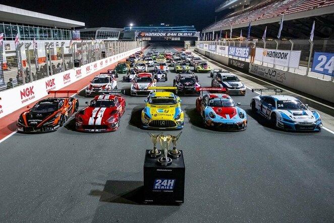 24 valandų lenktynės Dubajuje   Organizatorių nuotr.