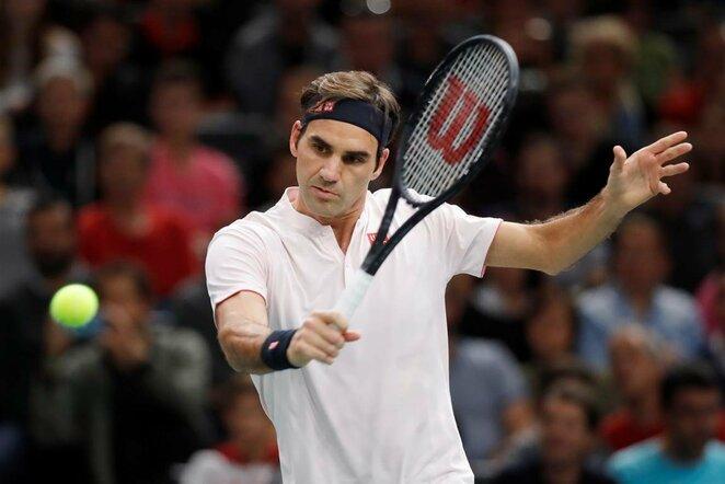 Rogeris Federeris prieš Fabio Fognini | Scanpix nuotr.