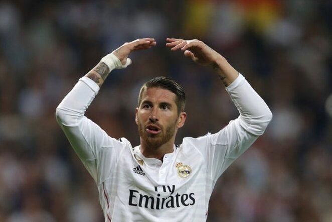 Sergio Ramosas | AP/Scanpix nuotr.