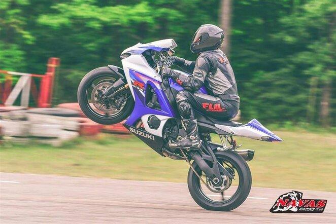 Lietuvos ir Latvijos plento žiedo motociklų čempionato etapas | Organizatorių nuotr.