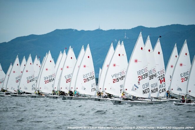 "Pasaulio ""Laser Radial"" čempionatas | JUNICHI HIRAI / BULKHEAD magazine JAPAN nuotr."