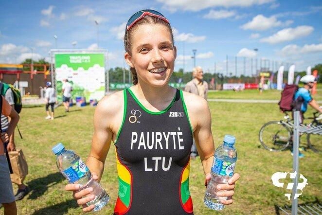 Lietuvos triatlono taurės etapas Skaudvilėje | Roko Lukoševičiaus nuotr.