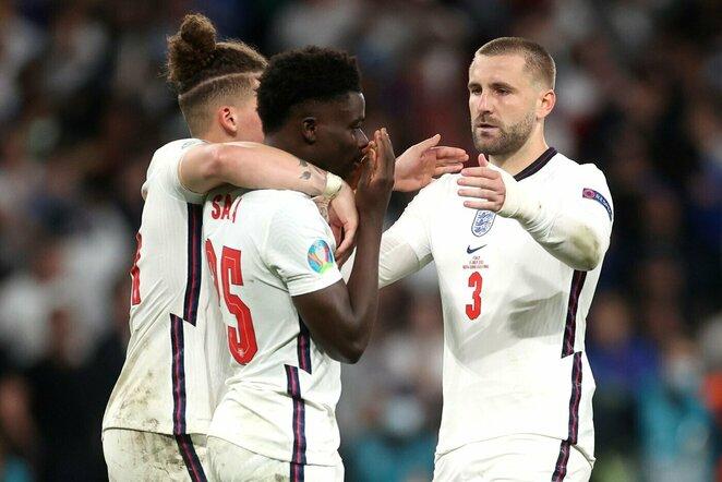 Anglijos rinktinės futbolininkai | Scanpix nuotr.