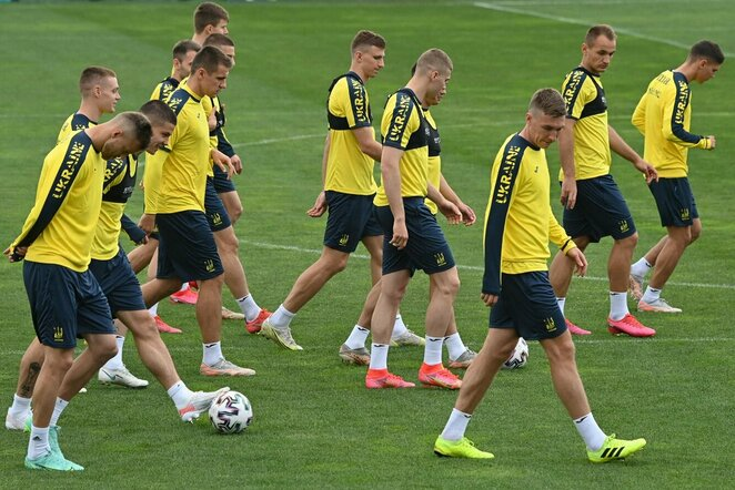 Ukrainos futbolo rinktinė | Scanpix nuotr.