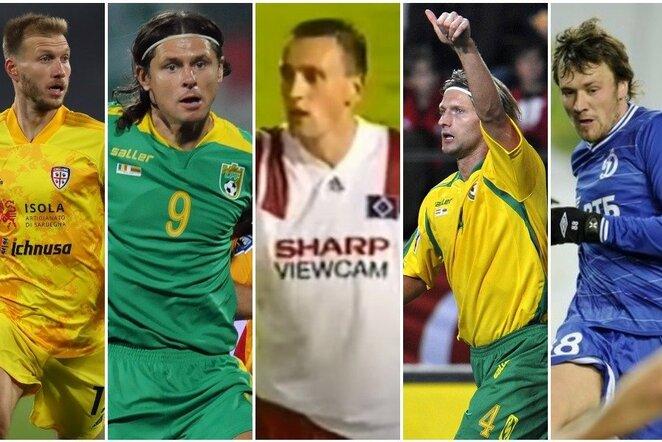 """Baltijos šalių futbolo žvaigždės   """"Scanpix"""" ir instagram.com nuotr."""