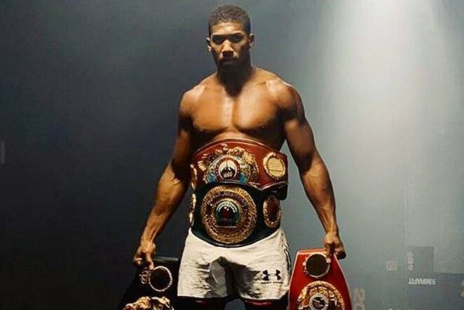 Anthony Joshua | Instagram.com nuotr