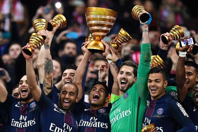 PSG žaidėjų triumfas | Scanpix nuotr.