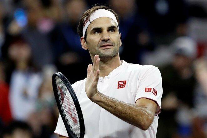 Rogeris Federeris prieš Kei Nishikori | Scanpix nuotr.