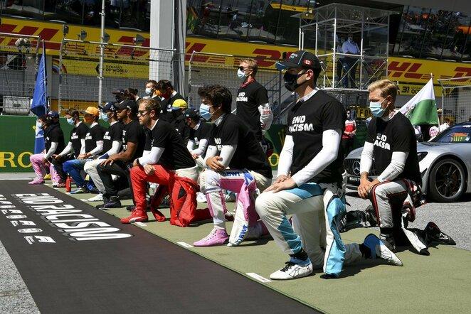 """""""Formulės 1"""" pilotai   Scanpix nuotr."""