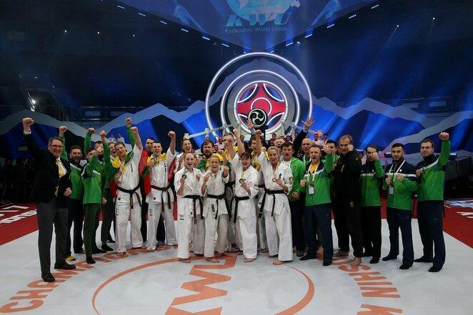 Pasaulio kiokušin karatė čempionatas | Algimanto Barzdžiaus nuotr.