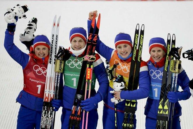 Norvegijos moterų slidinėjimo rinktinė   Scanpix nuotr.
