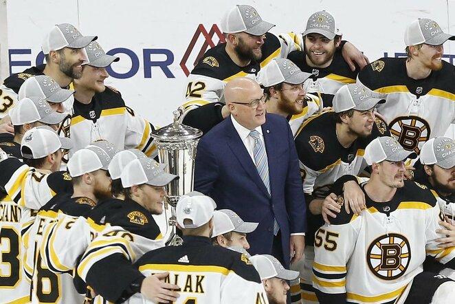 """Bruins"" ledo ritulininkai | Scanpix nuotr."