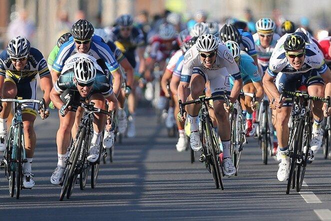 Aidis Kruopis (dešinėje) | AFP/Scanpix nuotr.