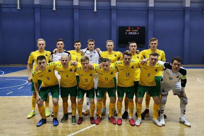 Lietuvos futsalo rinktinė   lff.lt nuotr.