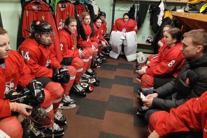 Lietuvos moterų ledo ritulio rinktinė   hockey.lt nuotr.