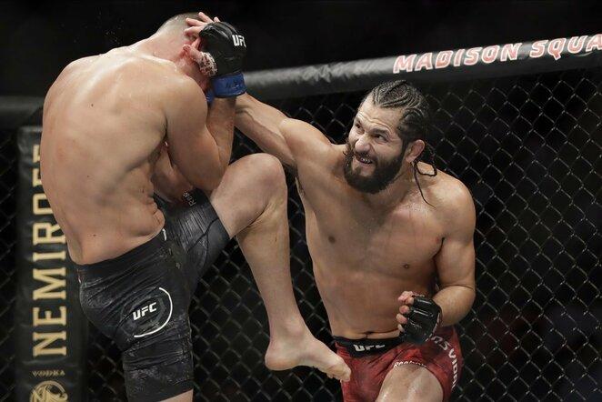 Nate'as Diazas prieš Jorge Masvidalį | Scanpix nuotr.