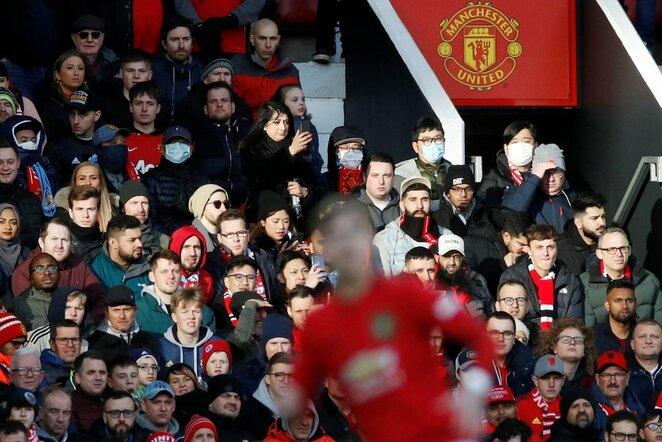 """""""Manchester United"""" fanai   Scanpix nuotr."""