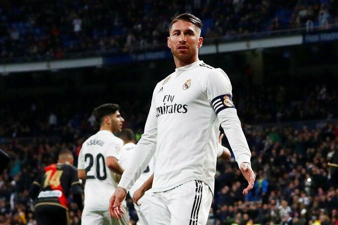Sergio Ramosas | Scanpix nuotr.