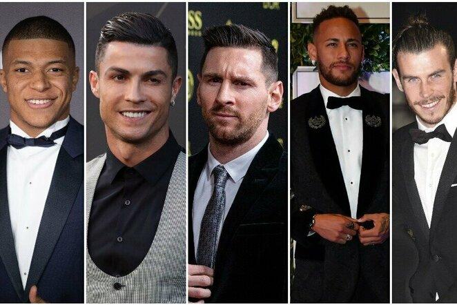 Daugiausiai per metus uždirbantys pasaulio futbolininkai | Scanpix nuotr.