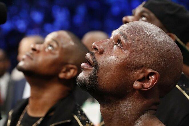 Floydas Mayweatheris prieš Conorą McGregorą   Scanpix nuotr.