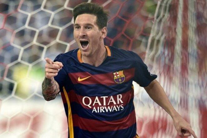 Lionelis Messi į Angliją viliojamas milžinišku atlyginimu   AFP/Scanpix nuotr.