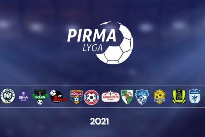 2021 metų Pirmos lygos dalyviai | Organizatorių nuotr.