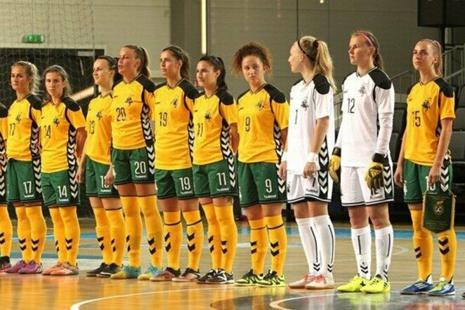 Lietuvos moterų futsal rinktinė | lff.lt nuotr.