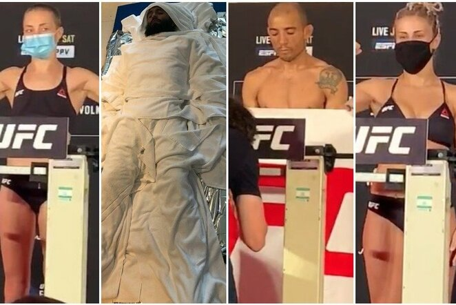 """UFC 251"" svėrimai | Youtube.com nuotr."