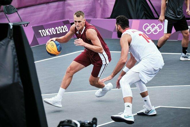 Latvijos ir Lenkijos rungtynės   Organizatorių nuotr.