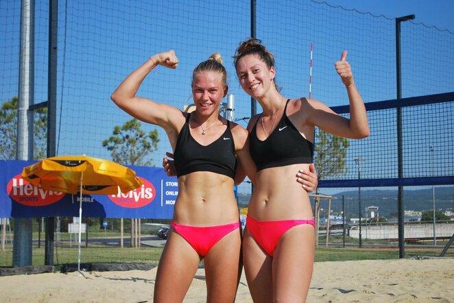 Europos universitetų paplūdimio tinklinio čempionatas   Organizatorių nuotr.