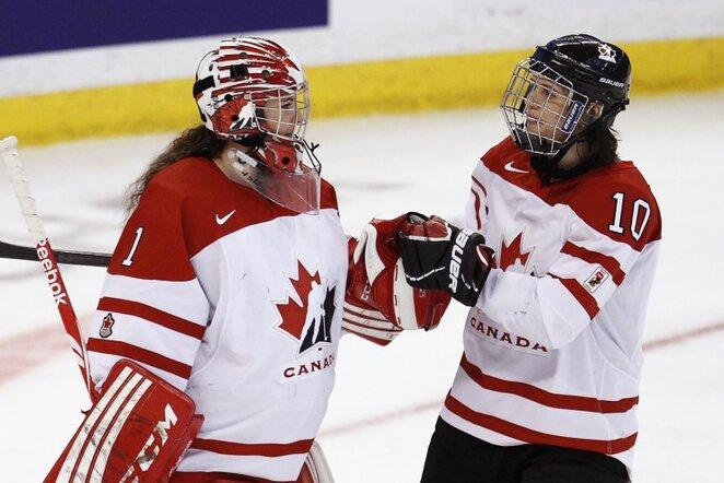 Kanados ledo ritulininkės   Reuters/Scanpix nuotr.