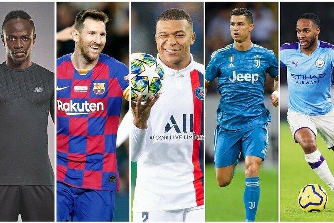 Vertingiausi pasaulio futbolininkai | Instagram.com nuotr