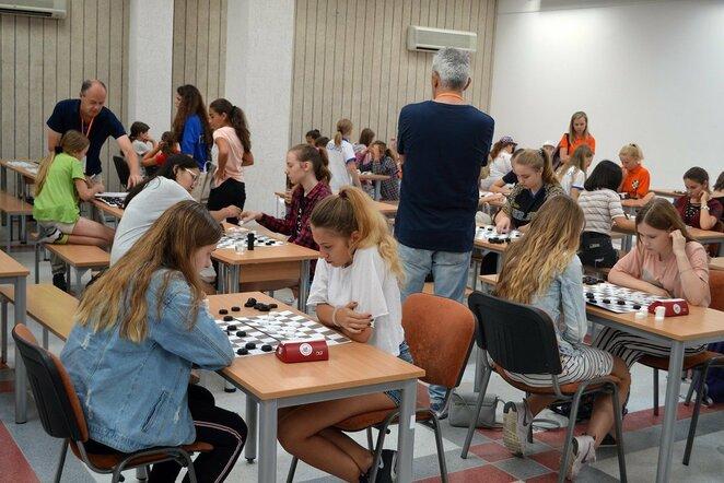 Europos jaunimo šaškių čempionatas Vilniuje   Organizatorių nuotr.