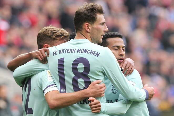 "Vokietijos ""Bundesliga"": ""Mainz"" - Miuncheno ""Bayern"" | Scanpix nuotr."