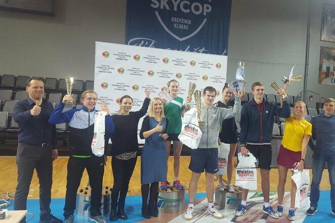 Geriausių Lietuvos stalo tenisininkų turnyras   Organizatorių nuotr.