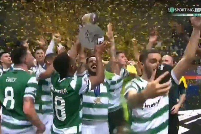"Lisabonos ""Sporting"" | ""Twitter"" nuotr."