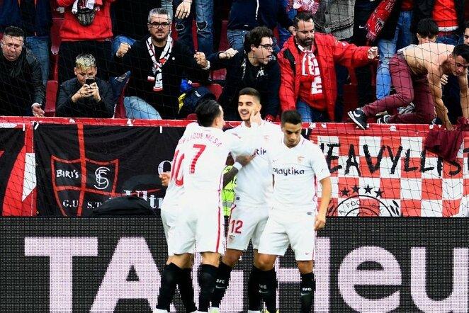 Sevilla – Valladolid rungtynių akimirka  | Scanpix nuotr.