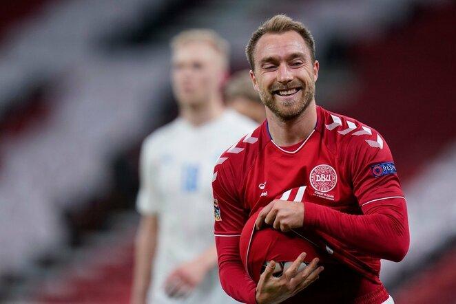 Christianas Eriksenas | Scanpix nuotr.