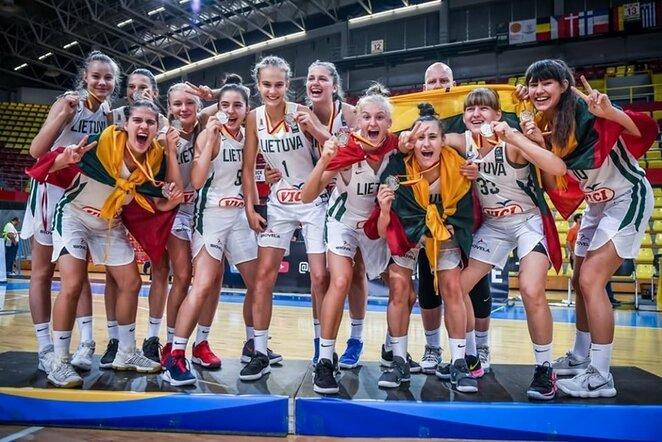 Lietuvos merginų krepšinio rinktinė | FIBA nuotr.