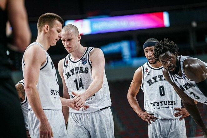 """VEF ir """"Ryto"""" rungtynės   FIBA nuotr."""